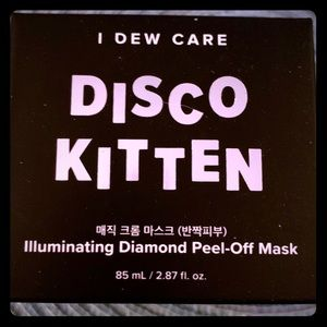 🌟Disco Kitten Illuminating Diamond peel mask